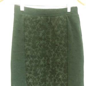 Moulinette Soeurs Green Skirt from Anthropologie